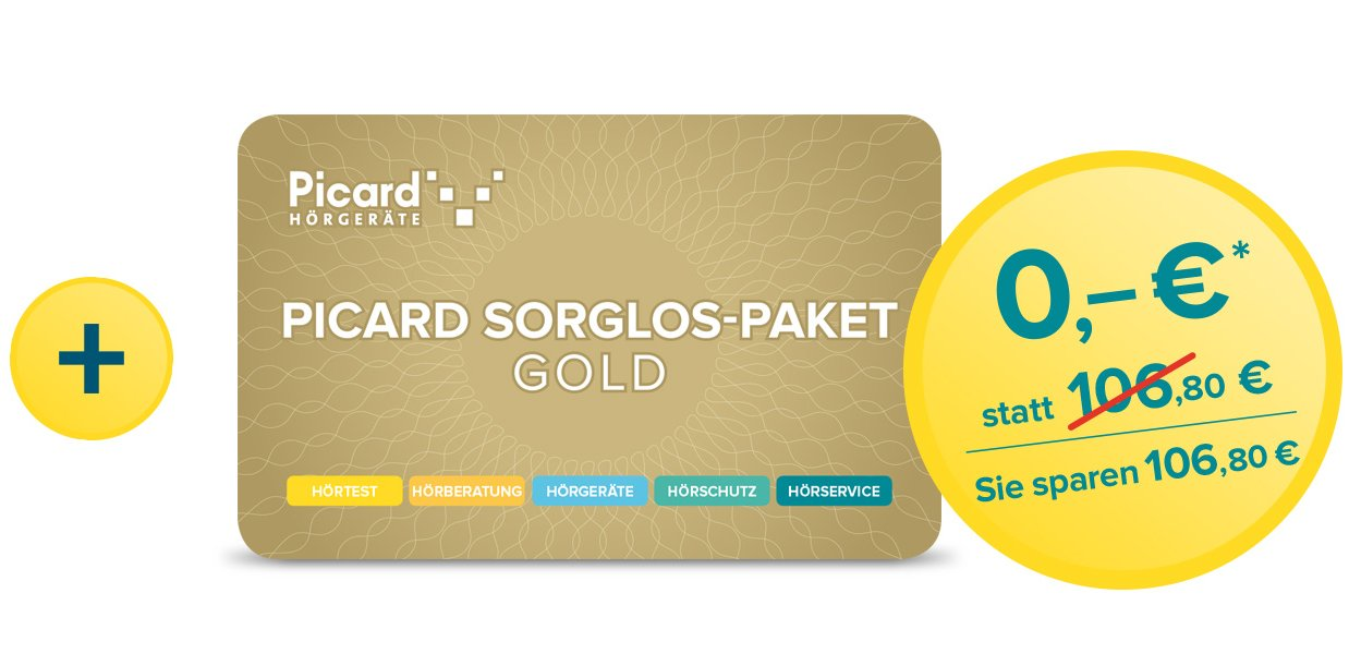 Picard Sorglos Paket GOLD